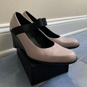 Arche Lilac Leather Wedges